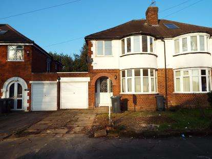 3 Bedrooms Semi Detached House for sale in Enstone Road, Erdington, Birmingham, West Midlands