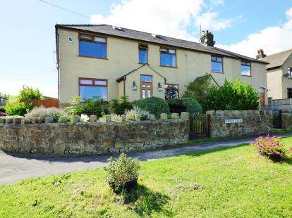 4 Bedrooms Semi Detached House for sale in Ferndale Road, Peak Dale, Buxton