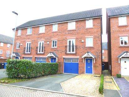 3 Bedrooms Terraced House for sale in School Drive, Lymm, Cheshire