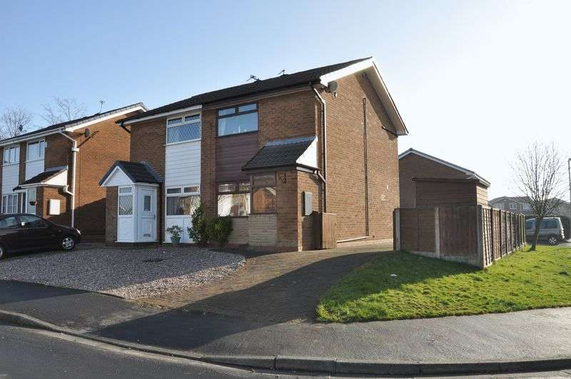 2 Bedrooms Semi Detached House for sale in Daisy Hill Drive, Adlington