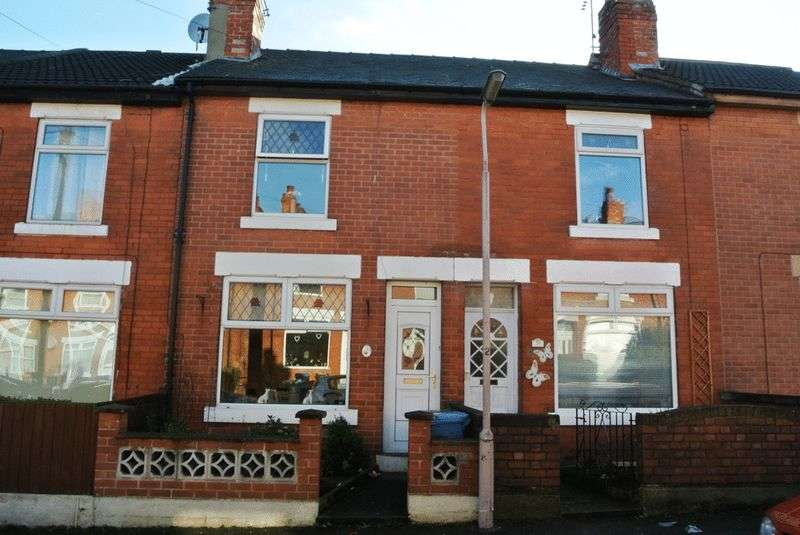 2 Bedrooms Terraced House for sale in Harrington Street, Mansfield, NG18 5LS