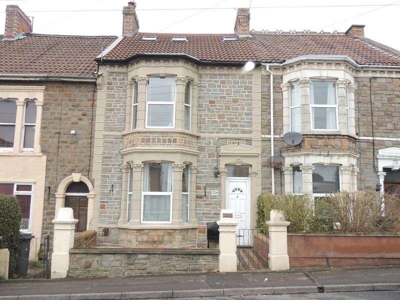 4 Bedrooms Terraced House for sale in Hanham Road, Hanham, Bristol