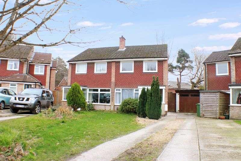 3 Bedrooms Semi Detached House for sale in Woodthorpe Gardens, Sarisbury Green