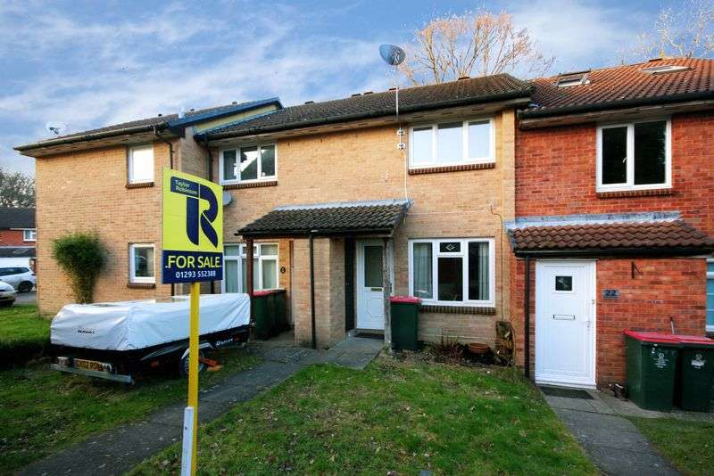 2 Bedrooms Terraced House for sale in Hoylake Close, Crawley