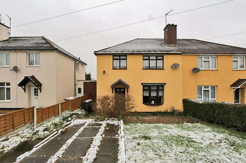 3 Bedrooms Semi Detached House for sale in Dee Road, Walsall
