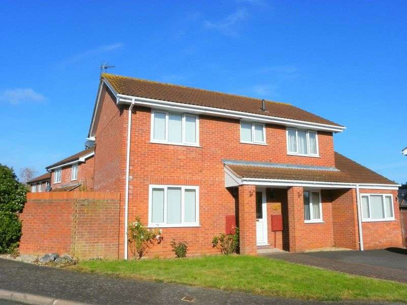 4 Bedrooms Detached House for sale in Dowslands, Taunton