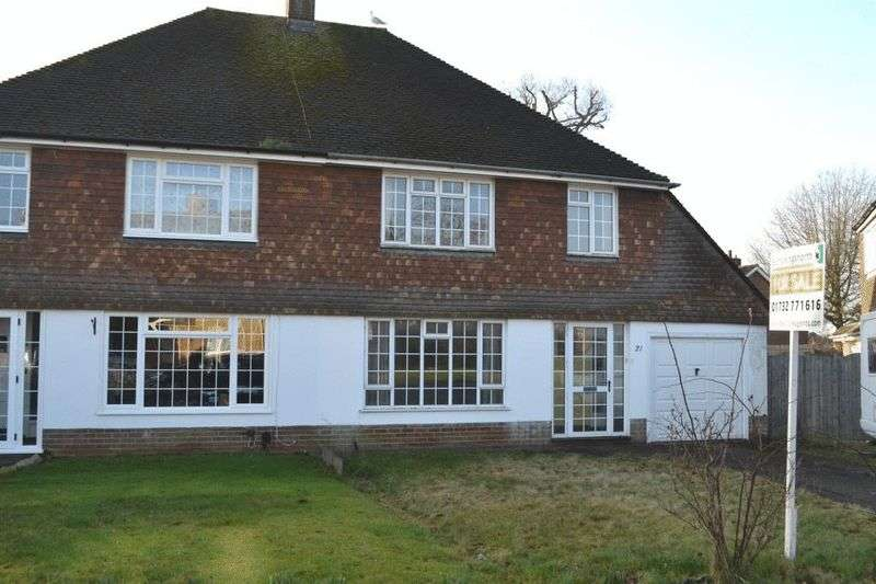 3 Bedrooms Semi Detached House for sale in Sullivan Road, Tonbridge