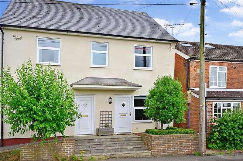 2 Bedrooms Semi Detached House for sale in Victoria Road, Hadlow, Golden Green, Kent