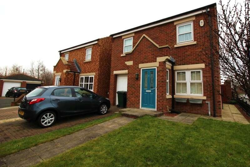 3 Bedrooms Detached House for sale in Wiltshire Gardens, Wallsend, NE28
