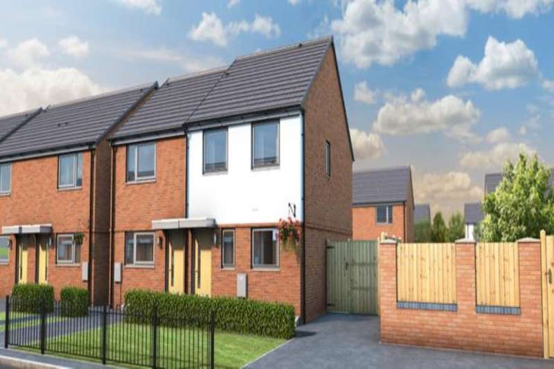 3 Bedrooms Semi Detached House for sale in Waters Keep Harden Road, Walsall, WS3