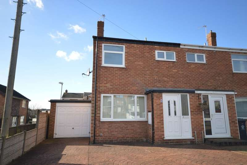 3 Bedrooms Semi Detached House for sale in Kilburn Way, Newhall, Swadlincote, DE11