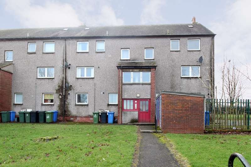 3 Bedrooms Maisonette Flat for sale in Bulloch Crescent, Denny, FK6 5AL