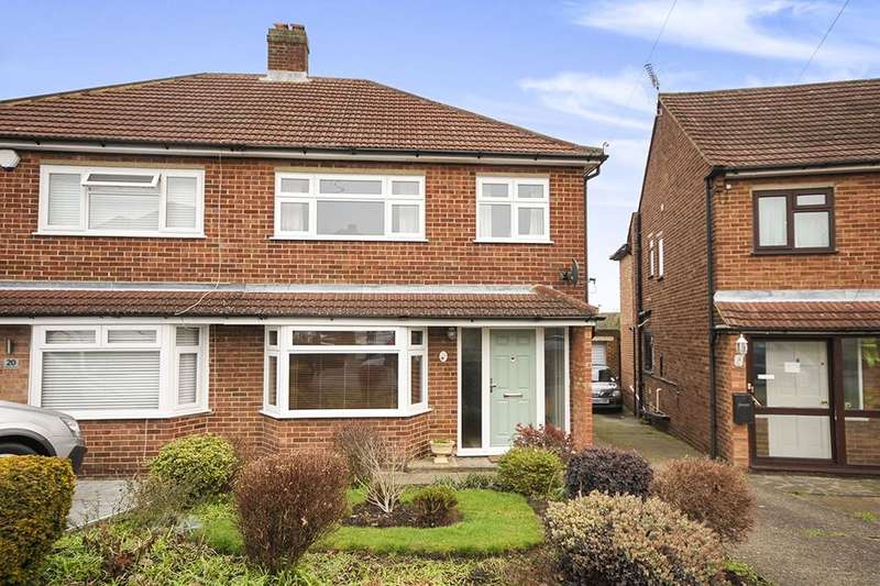 3 Bedrooms Semi Detached House for sale in Sermon Drive, Swanley, BR8