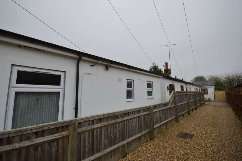 1 Bedroom Semi Detached Bungalow for sale in Bulford Road, Shipton Bellinger, Tidworth, SP9