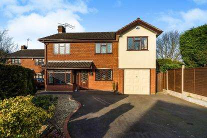 4 Bedrooms Detached House for sale in Yellowhammer Court, Kidderminster, Worcestershire