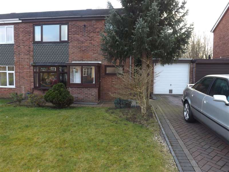 3 Bedrooms Semi Detached House for sale in Ronaldsway Drive, Newcastle-under-Lyme