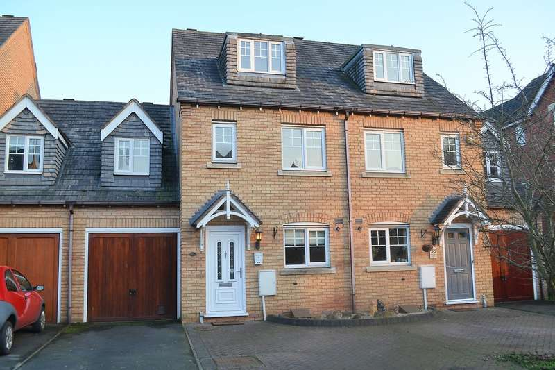 5 Bedrooms Town House for sale in Harrington Walk, Lichfield