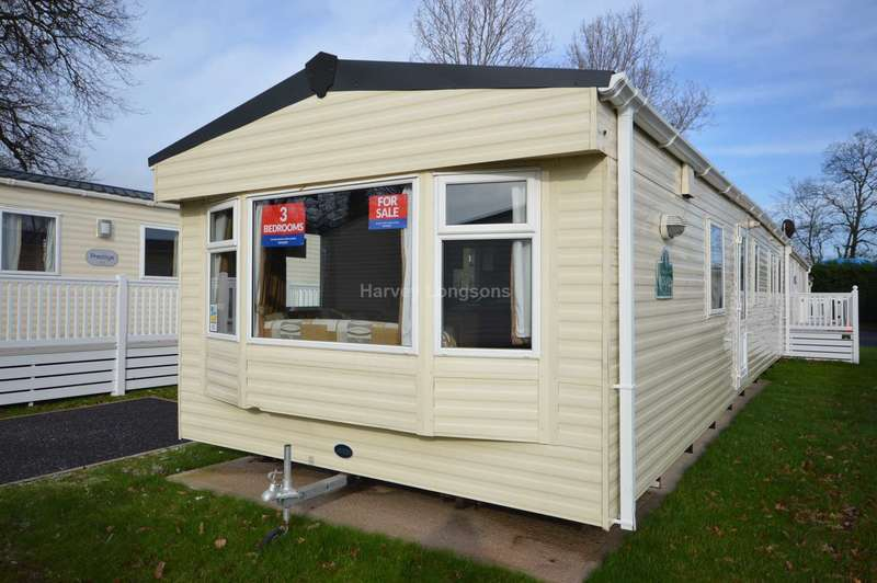 3 Bedrooms Caravan Mobile Home for sale in Dawlish Sands Holiday Park, Warren Road, Dawlish Warren