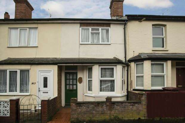 2 Bedrooms Terraced House for sale in Cranbury Road, West Reading,