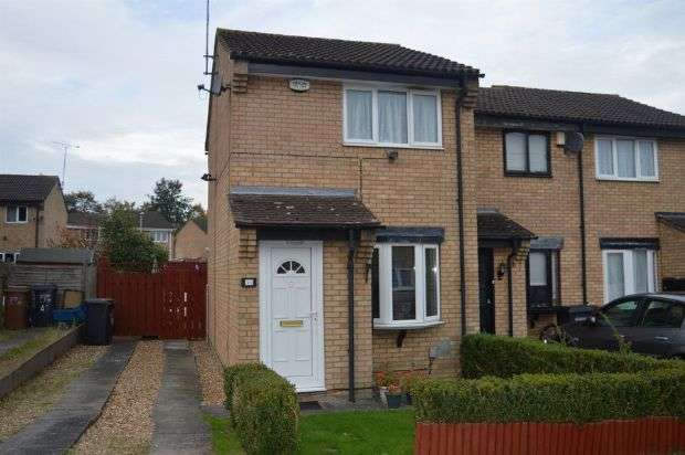 2 Bedrooms End Of Terrace House for sale in Hamsterly Park, Southfields, Northampton NN3 5DA