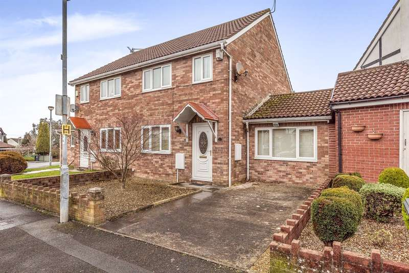 3 Bedrooms Semi Detached House for sale in Jestyn Close, Cardiff