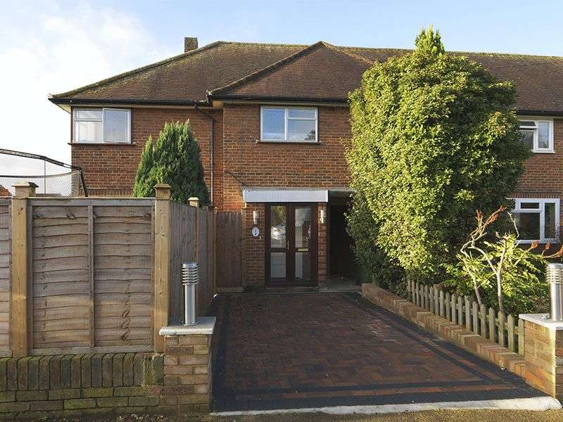 4 Bedrooms Semi Detached House for sale in Manordene Close, Thames Ditton, KT7