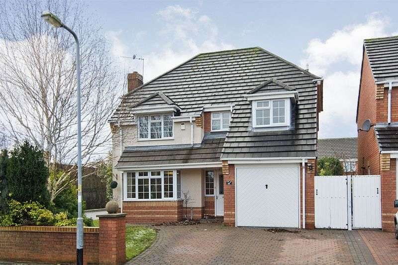 4 Bedrooms Detached House for sale in Kingscroft, Wimblebury, Cannock