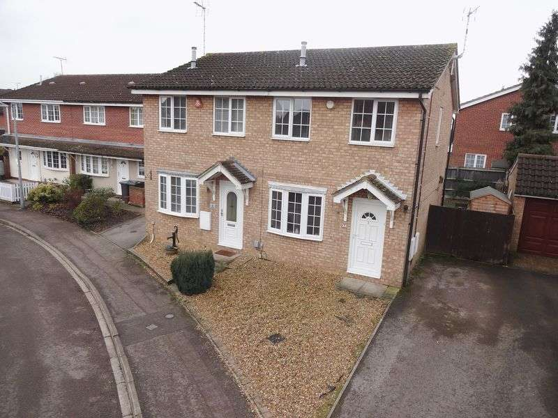 2 Bedrooms Semi Detached House for sale in Parmiter Way, Ampthill