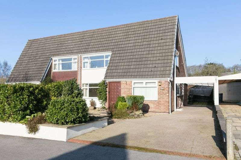 4 Bedrooms Semi Detached House for sale in Brandreth Drive, Parbold, WN8 7HD