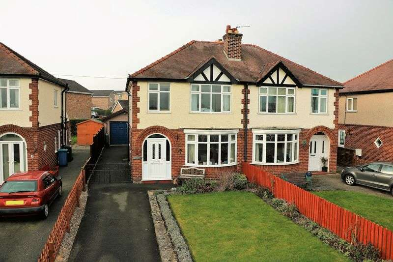 4 Bedrooms Semi Detached House for sale in St. Meugans, Ruthin