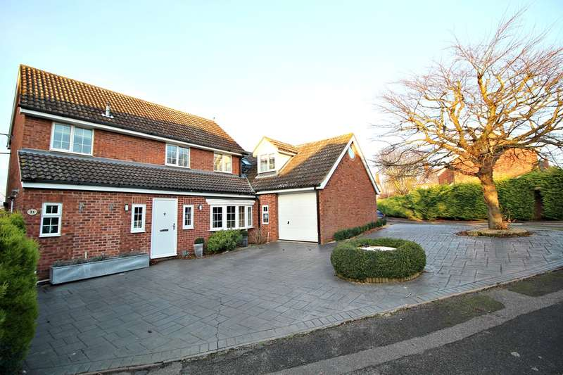 4 Bedrooms Link Detached House for sale in Convent Close, Hitchin, SG5