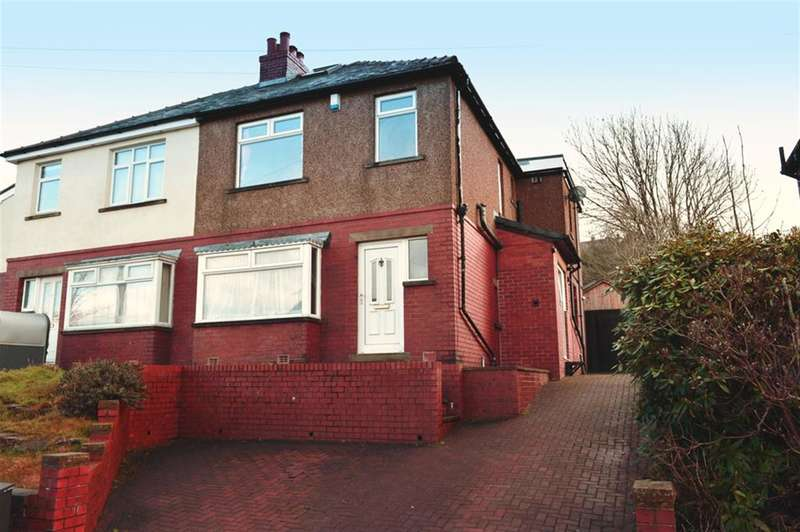 3 Bedrooms Semi Detached House for sale in Hall Bower Lane, Huddersfield, HD4 6RW