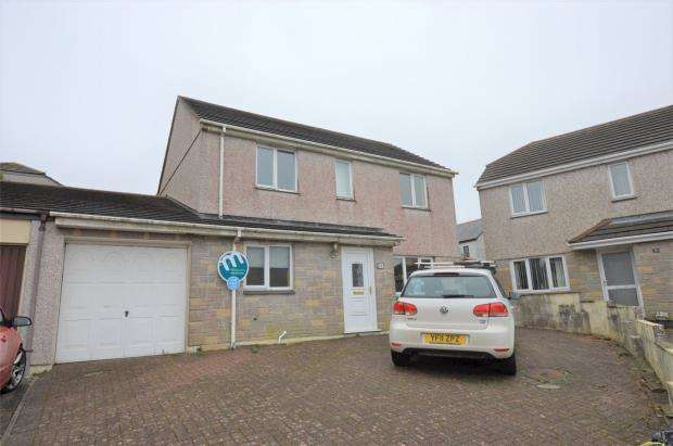 3 Bedrooms Link Detached House for sale in Parc-an-Bans, Camborne, Cornwall