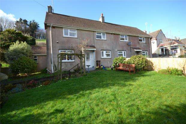 3 Bedrooms Semi Detached House for sale in Treliddon Lane, Downderry, Torpoint, Cornwall