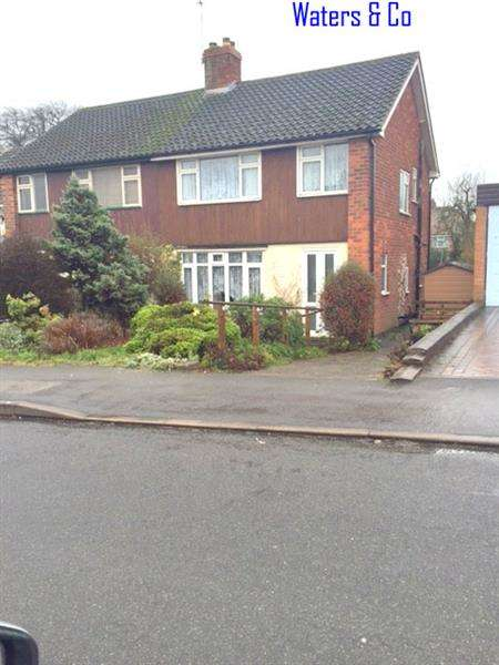 3 Bedrooms Semi Detached House for sale in Norton Road, Coleshill