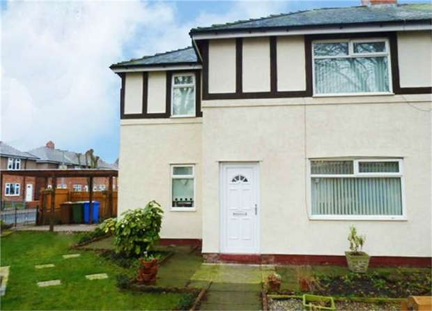 2 Bedrooms Semi Detached House for sale in Hodgsons Road, Blyth, Northumberland