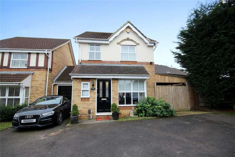 3 Bedrooms Link Detached House for sale in Spinney Oak, Clarendon Gate, Ottershaw, Surrey, KT16