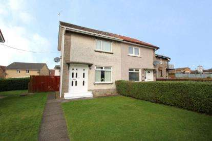 2 Bedrooms Semi Detached House for sale in Cumbrae Road, Saltcoats, North Ayrshire