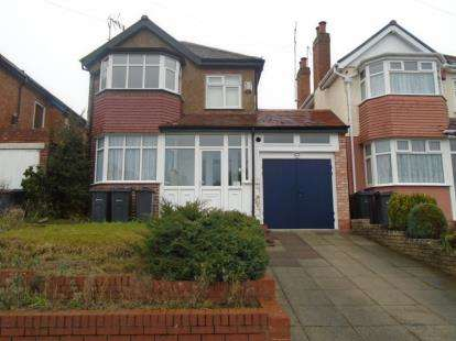 3 Bedrooms Detached House for sale in Weymoor Road, Birmingham, West Midlands