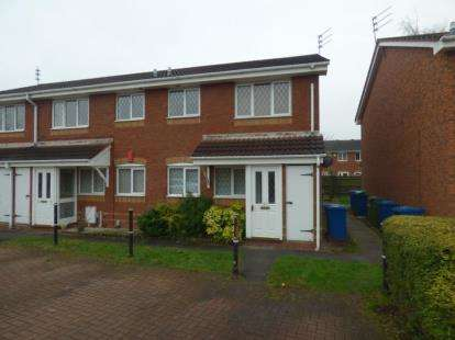 1 Bedroom Maisonette Flat for sale in Exeter Drive, Tamworth, Staffordshire