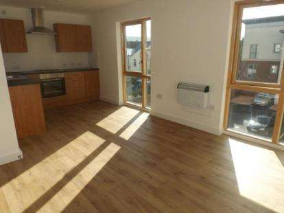 """2 Bedrooms Flat for sale in St Crispins Court, """"Stockwell Gate, Mansfield, Nottinghamshire"""