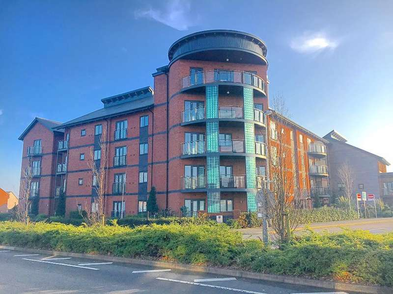 2 Bedrooms Flat for sale in CHURCHFIELDS WAY, WEST BROMWICH, WEST MIDLANDS, B71 4FF