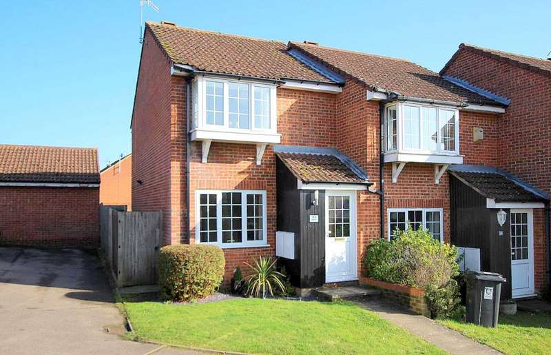 2 Bedrooms House for sale in 2 BED BAY FRONTED END TERRACE IN The Foxgloves, Chaulden Vale, HP1