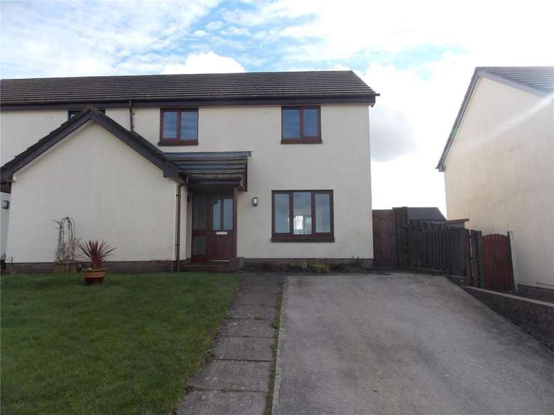 3 Bedrooms Semi Detached House for sale in Martin Close, Redruth