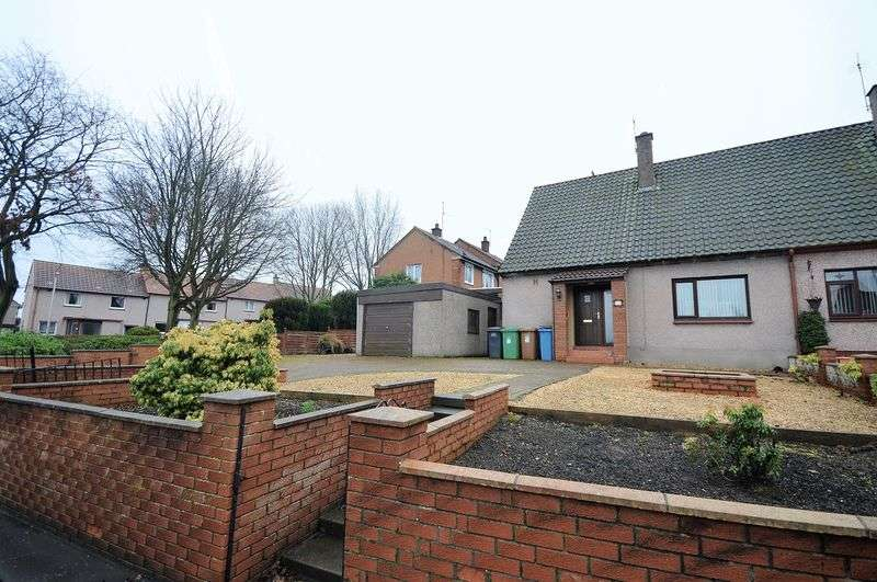 2 Bedrooms Semi Detached House for sale in Alexander Road, Auchmuty, Glenrothes