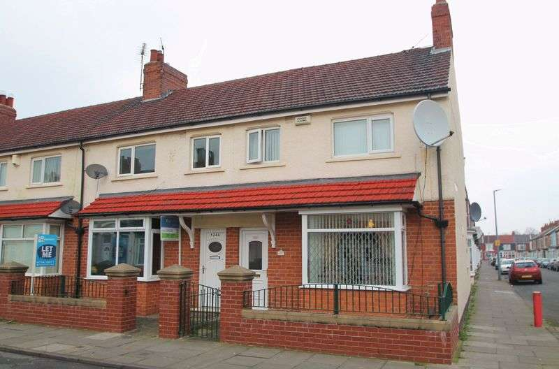 2 Bedrooms Terraced House for sale in Crescent Road, Middlesbrough