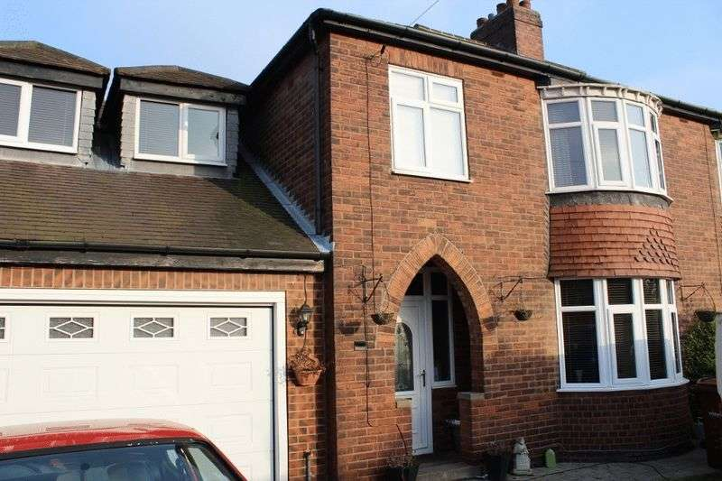 4 Bedrooms Semi Detached House for sale in Womersley Road, Knottingley