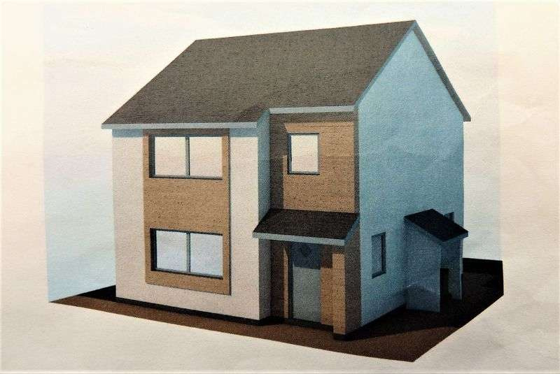3 Bedrooms Detached House for sale in New build, Plot 1, Lon Pitar, Water Street, Penygroes, Caernarfon