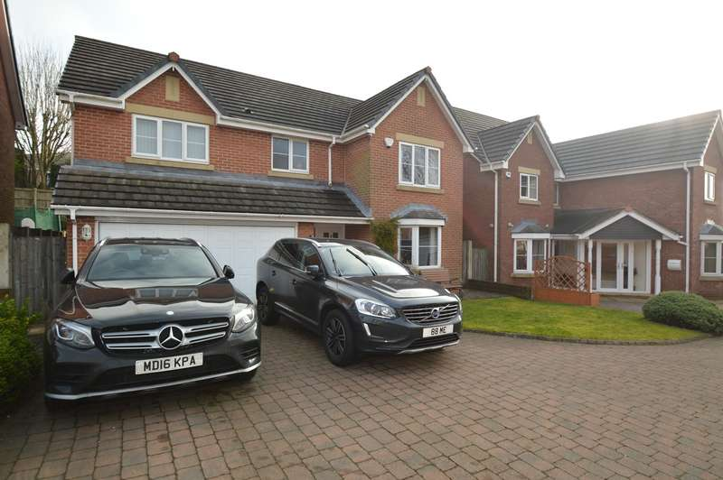 5 Bedrooms Detached House for sale in Prospect Place, Hollins, Bury, BL9