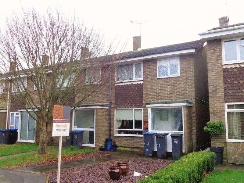 3 Bedrooms Terraced House for sale in Kipling Avenue, Worthing